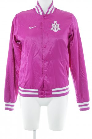 Nike College Jacket violet-white casual look