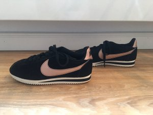 Nike Cortez - 38.5 Schwarze mit roségold swoosh