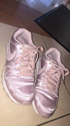 Nike cortez sneaker rosegold flieder Rosa