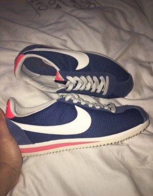 Nike Cortez Sneaker Turnschuhe Blau Weiß Rosa