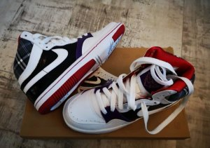 Nike court force high Damen Sneaker Gr. 36 Neu mit Karton
