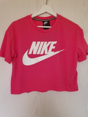 Nike Camicia cropped multicolore