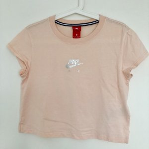 Nike Croptop Crop-top peach cropped