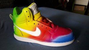 NIKE Custom Paint Airbush Rainbow