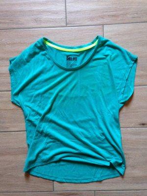 Nike Damen T-Shirt Größe S/M petrol grün