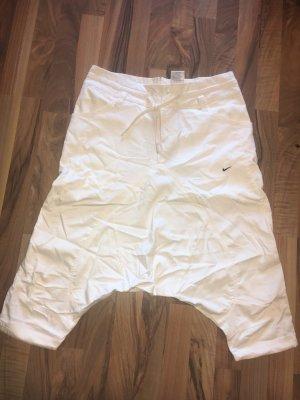 Nike Pantalon «Baggy» blanc cassé