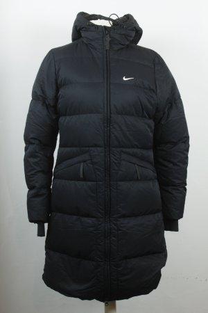 Nike Daunenmantel Gr. 34/36 schwarz