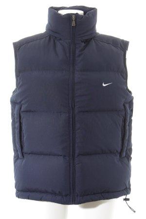 Nike Daunenweste dunkelblau sportlicher Stil