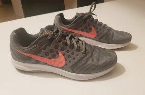 Nike Sneaker grigio-fucsia neon