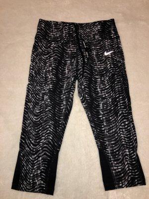 Nike Sportbroek zwart-lichtgrijs