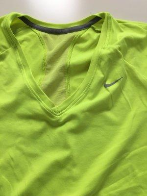 Nike Dri-Fit Fitness Shirt neon gelb Grösse L