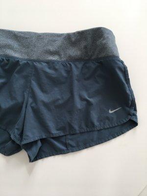 Nike Dri-Fit Fitnesshose Sporthose Blau Grau Grösse L