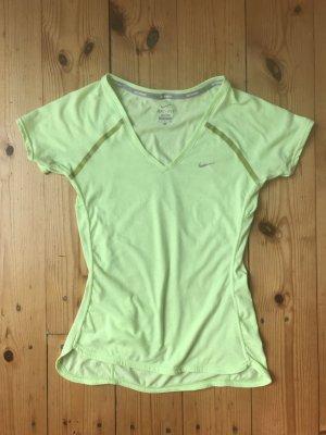 Nike Sportshirt lichtgroen Polyester