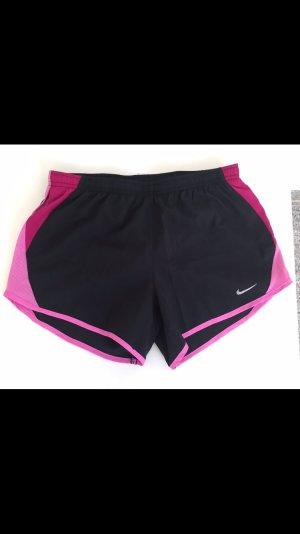 Nike Short de sport noir-rose