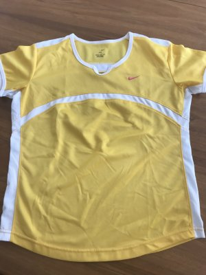 Nike Sports Shirt yellow-white