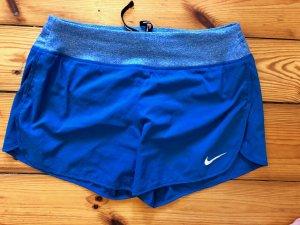 Nike Sport Shorts neon blue-azure polyester