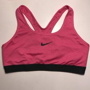 Nike Dri-Fit Sport Bh Gr. L 40 42 pink schwarz