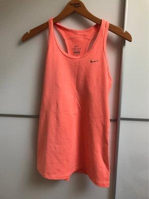 Nike Maglietta sport salmone-albicocca