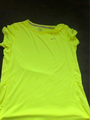 Nike Sportshirt neongeel