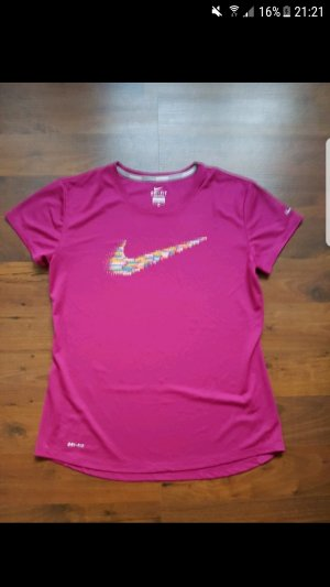 Nike dry-fit Laufshirt pink