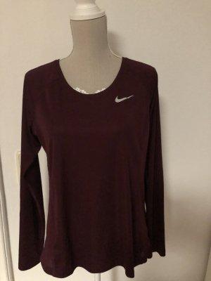 Nike T-shirt de sport rouge carmin