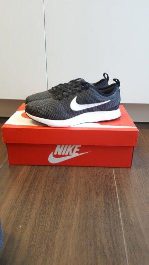 Nike Dualtone Racer GS 38 schwarz/weiß/dunkelgrau