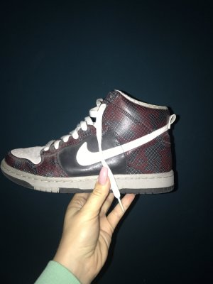 Nike Dunk High, 37,5, fast wie neu, Wildleder - upper