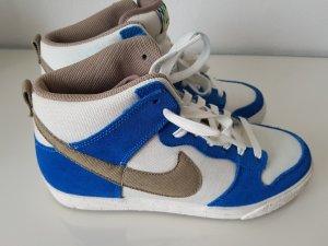 Nike Zapatillas blanco-azul