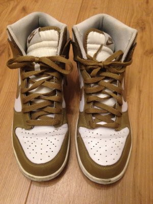 Nike Dunk High, sand-weiß, 42