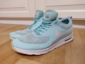 Nike Lace-Up Sneaker white-turquoise