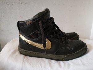 Nike High Top Sneaker green grey-khaki
