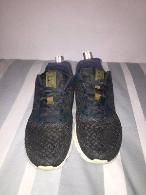 Nike Zapatillas con tacón verde oscuro-gris verdoso