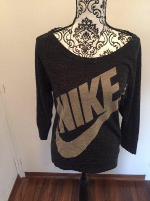 Nike Sweater met korte mouwen grijs