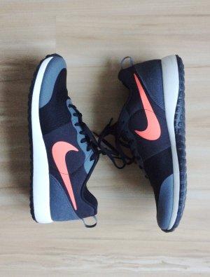 NIKE Elite Shinsen schwarz grau neonpink Sneaker Turnschuhe Sportschuhe