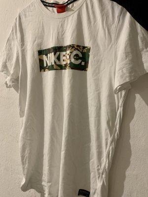Nike Shirt met print wit-groen