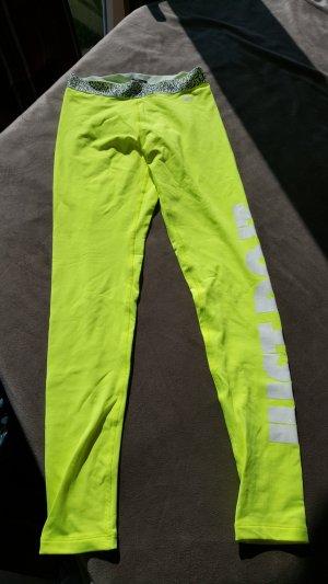 Nike Fitness Hose Leggings neongelb S 36