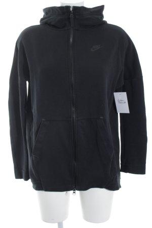 Nike Fleece Jackets black athletic style