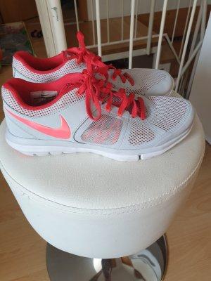 Nike Sneakers met veters wit-rood