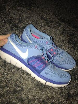 Nike Zapatillas azul neón