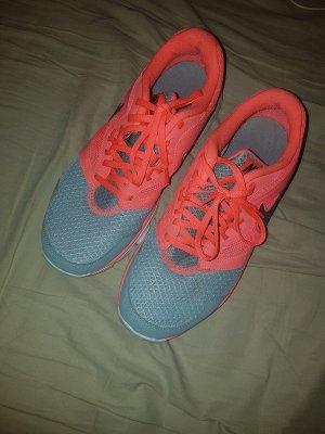 Nike Sneaker stringata arancio neon-grigio