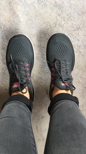 Nike Flex Free Run 2017 Damen schwarz/pink
