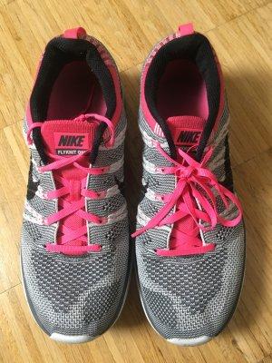Nike Flyknit One Pink/ Grau