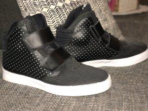 Nike Zapatillas altas negro-blanco