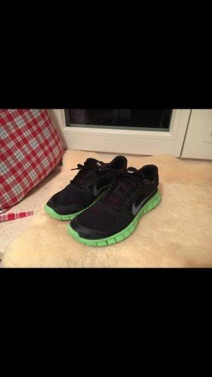 Nike Free 4.0 schwarz grün