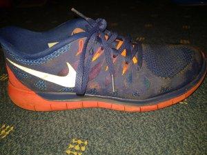 Nike free 5.0 Damen in Blau/Pink