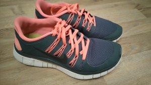 Nike free 5.0 grau/coral/schwarz