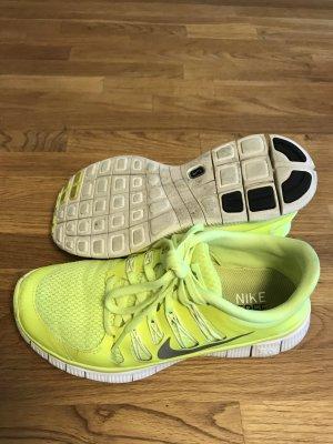 Nike Free 5.0 neon gelb/grün