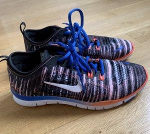 Nike Free 5.0 NEU Schwarz / blau / Orange