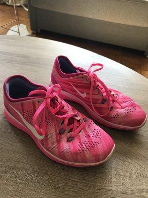Nike Free 5.0 pink Damen Laufschuh