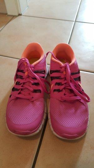 Nike free 5.0 pink gr.38.5